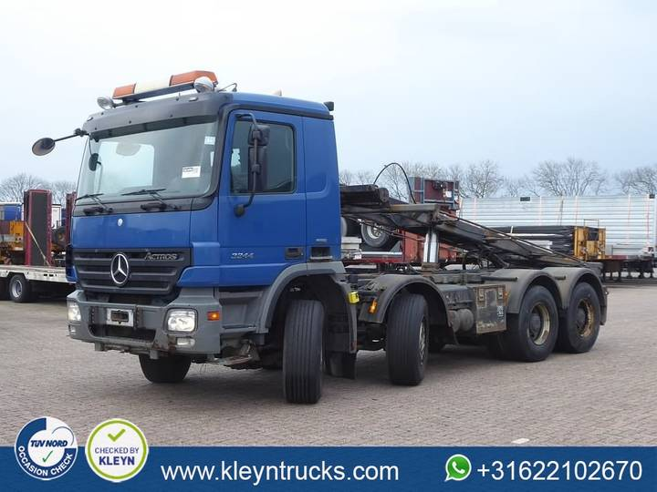 Mercedes-Benz ACTROS 3244 8x4 full steel eps - 2007