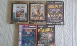Used PC Games for sale.