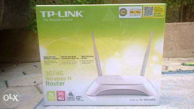 TP Link TL-MR3430 3G/4G Wireless N Router Kano Municipal - image 2