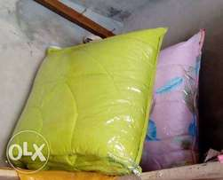 DUVET_100%ORGANIC COTTON with bedsheet and4pillowcase