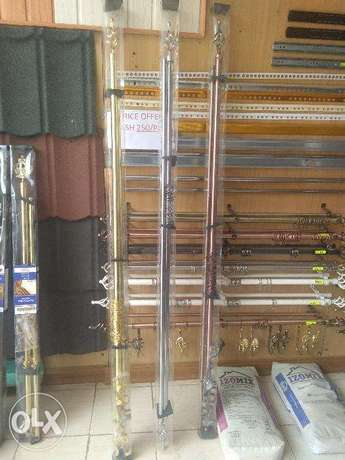 3M Brand New Curtain Rods Industrial Area - image 1