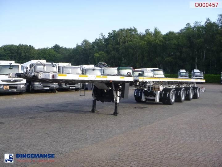 Nooteboom Platform trailer extendable OVB-73-04V / 43.9 m / 83 t - 2007