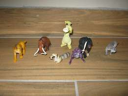 Ice Age set of seven figurines