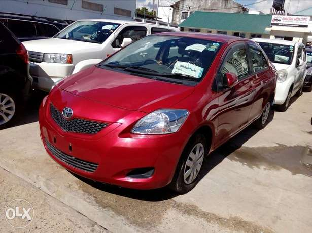 Toyota belta red color new plate number fresh imports Mombasa Island - image 1