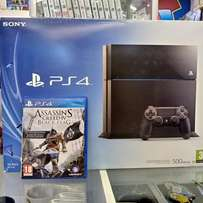 Ps4 500gb with Assassis Creed