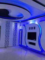 Ceiling and gypsum fitting