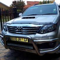 2012 Toyota fortuner 3.0 D4D A/T