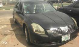 2004 model, Nissan Maxima,manual gear,v6,Nigeria use