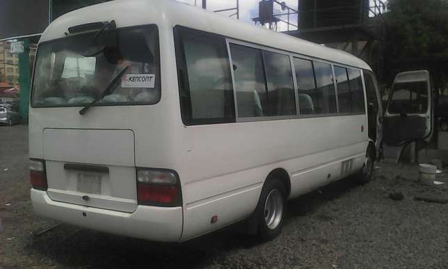 Just arrived very clean Toyota coaster bus on sale Nairobi CBD - image 2