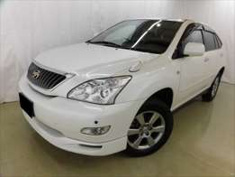 Foreign Used Toyota Harrier 2010 White For Sale Asking Price 2,750,000