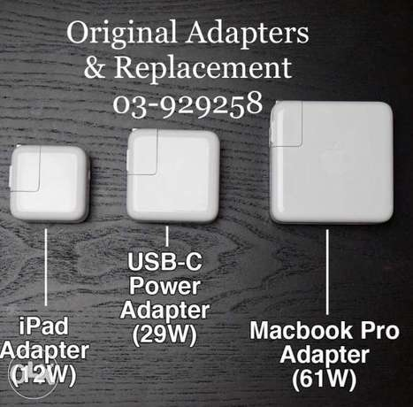 Apple genuine Chargers