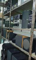 Amplifiers,Speakers and Active Subwoofers.From R499.Contact me.