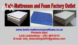 Beds Mattresses and Foam Factory Outlet
