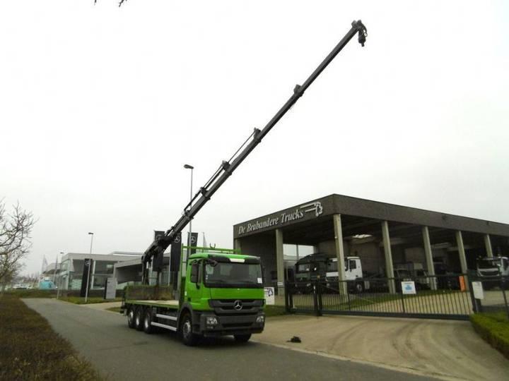 Mercedes-Benz MERCEDES ACTROS 3236 8X4 - EURO5 - HIAB 211 - KRAANWAGEN - 2012
