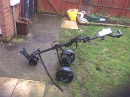 Electronic golf trolley for sale