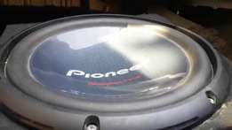 Selling Pioneer 12 inch champion series