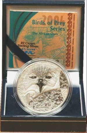 2004 Birds of Prey Edition 1oz Sterling Silver R2 coin The Heads - image 1