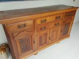 Antique dresser with top in excellent condition.