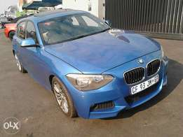 2013 Bmw 1series m sport 118i automatic for sale