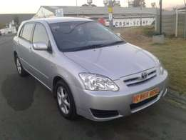 2004 Toyota Runx 1.6i RS 91000kilo FOr R75,000
