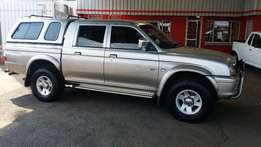2003 Mitsubishi Colt Rodeo 4x4 D/Cab 3000i, selling for R79 990.00