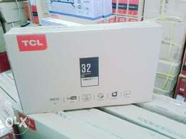 TCL 32 inch digital smart TV with YouTube browsing