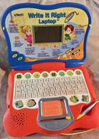 Vtech write it right kids laptop