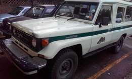 Toyota Landcruiser,one owner,genuine 60,000 km,best for Campaigns