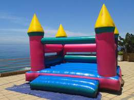 Jumping castle and water slide hire