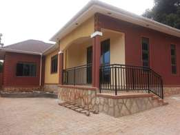 A three bedroom standalone house for rent in kyanja