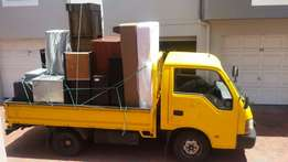 Furniture removals hire our bakkies