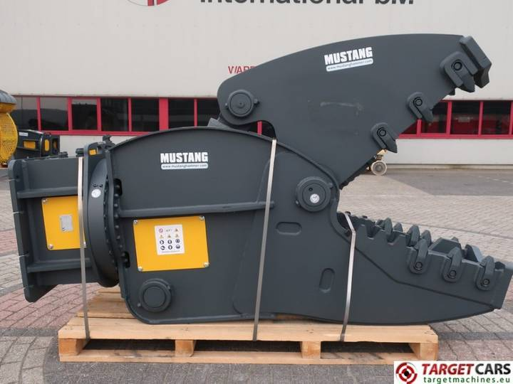 Mustang RH35 Hydr Rot Crusher Pulverizer Shear 22~35T NEW