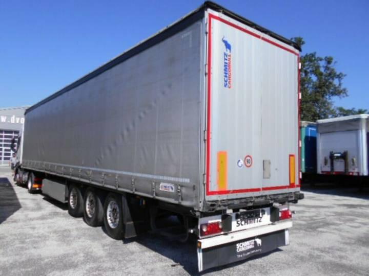 Schmitz Cargobull S01 gardienen, 2013, LIFT, Pal. BOX - 2013