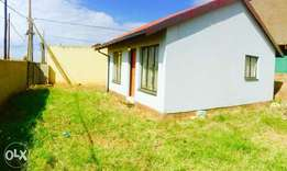 Two bedroom house to-let