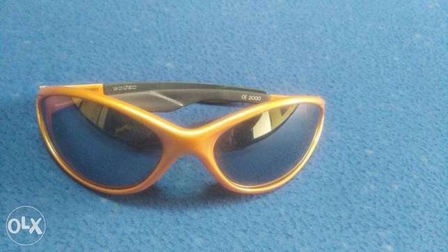 Rodeo original sunglasses Orange/black from France