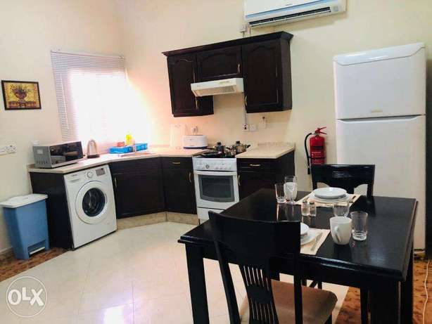 1 bhk Thumama 4000 qr monthly or yearly الثمامة -  5