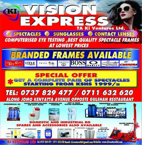 Buy one spectacle pair and get second one free ..limited offer ..Rush! Mombasa Island - image 3