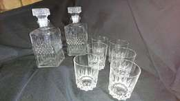 Crystal Tumblers and Disperses