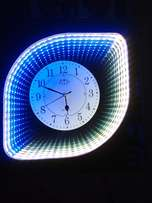 LEDs Infinity wall clock