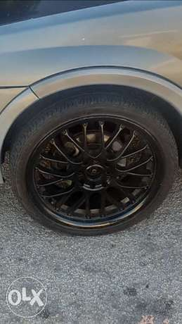 17 rims with tyres Hillside - image 1