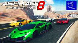 Asphalt 8 Airborne 720HD Car Racing Game for Android OS & PC