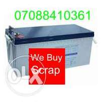 Buying dead solar inverter Battery Wuse Abuja