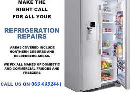 fridge and freezer repairs from as little as R120