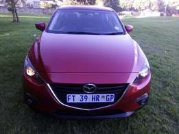 mazda 3 dynamic hatch back automatic 2015 excelent movement