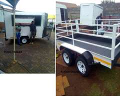 Food Trailers and Utility Trailers Sales from a Builder