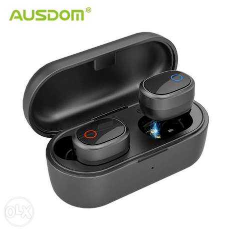 Earbuds ausdom 400mah battery