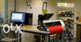 Sign Shop requires a Brand New Vinyl cutter or Plotter machine