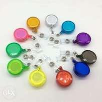 Retractable ID Card Badge Holder Recoil Reels