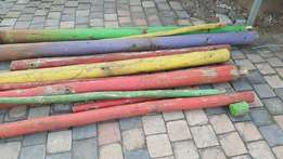 Poles and planks (Used but treated)
