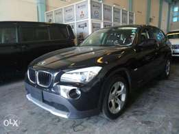 BMW x1 black colour 2010 model KCN number. Loaded with alloy rims , n